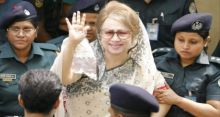 Khaleda taken to BSMMU