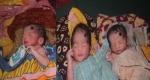 একসঙ্গে ৩ সন্তানের জন্ম
