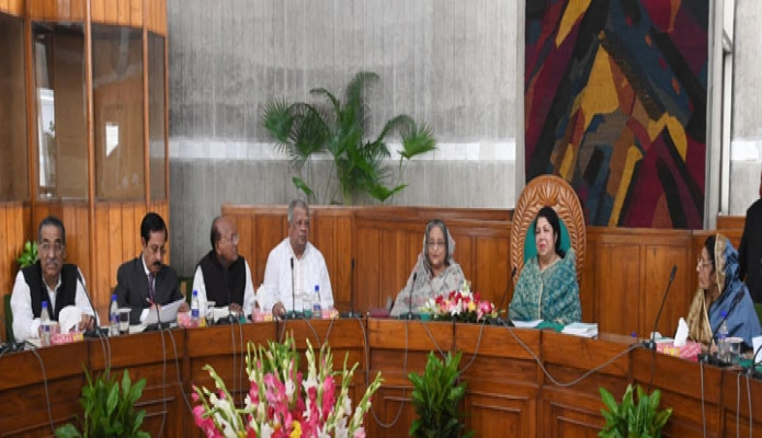 রবিবার ঢাকায় প্রধানমন্ত্রী শেখ হাসিনা জাতীয় সংসদ ভবনে দশম জাতীয় সংসদের কার্য উপদেষ্টা কমিটির ২২তম বৈঠকে অংশগ্রহণ করেন-এবিনিউজ